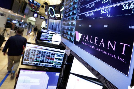 Valeant Pharmaceuticals Accused Of Vast Fraud By T. Rowe