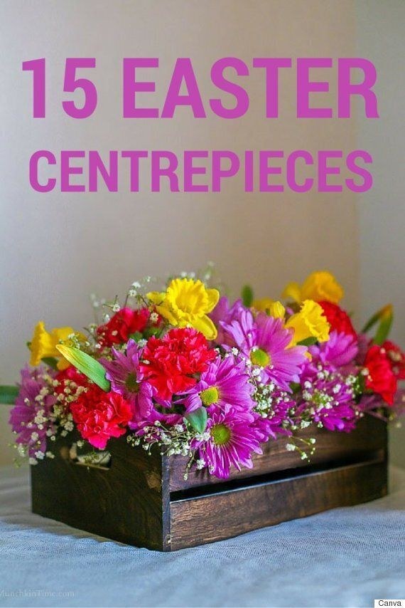 15 Easy Easter Centrepiece