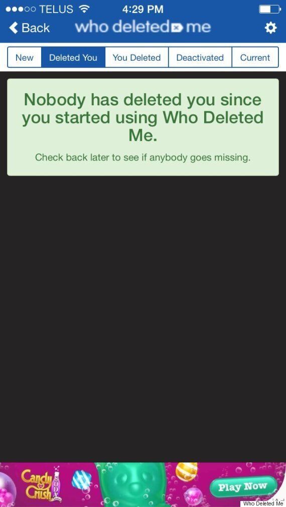 'Who Deleted Me' Allows Facebook Users To See Who Dropped