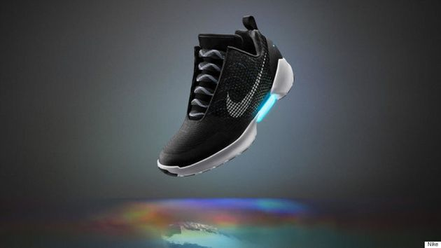 Nike Unveils New Self-Tying Shoe, The HyperAdapt
