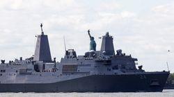 En réponse à l'Iran, les États-Unis envoient un navire de guerre au
