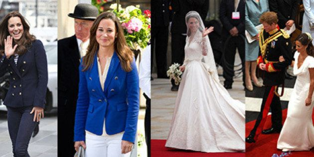 Pippa Middleton And Catherine The Duchess Of Cambridge Are Truly Style