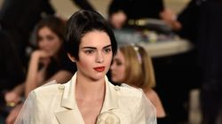 Kendall Jenner Is A Blushing Bride In