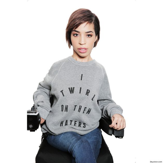 Jillian Mercado, Model With Muscular Dystrophy, Fronts Beyoncé Tour Merchandise