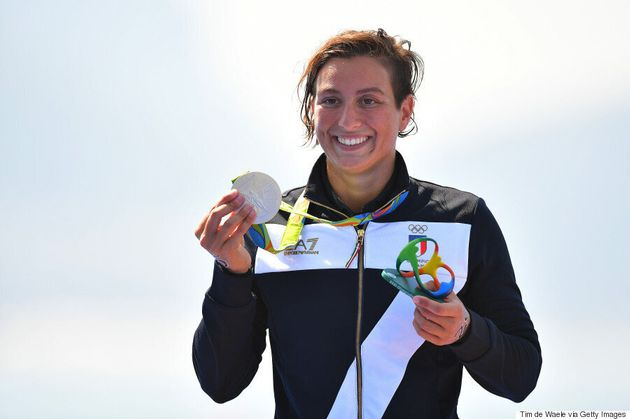 Italian Swimmer Comes Out By Dedicating Silver Medal To Her