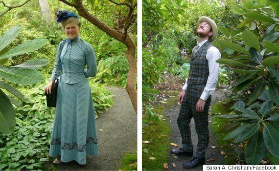 Couple Booted From Victorian Gardens For Wearing Victorian