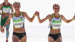 Officials Scold Twin Sisters For Crossing Olympic Finish Line
