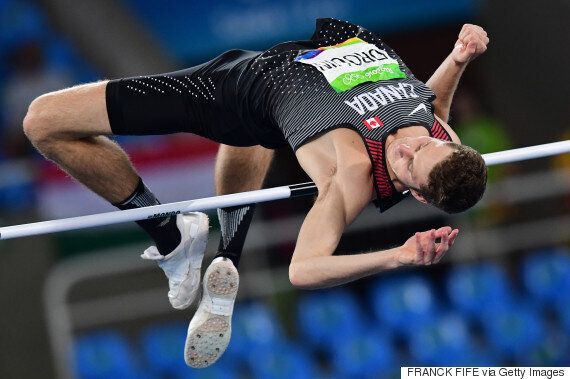 Derek Drouin Captures Gold For Canada In High
