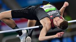 Derek Drouin Leaps To Capture GOLD For