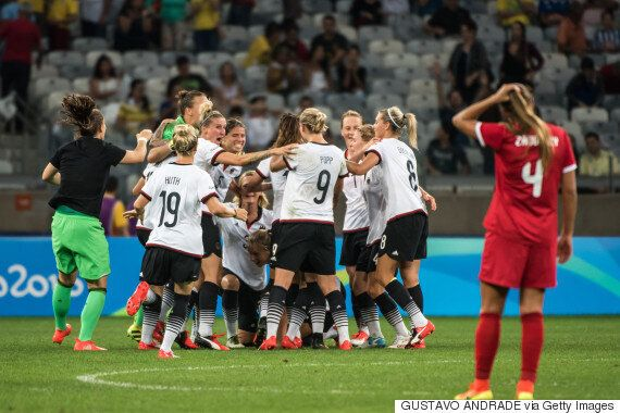 Canada's Women's Soccer Team Falls To Germany At Rio