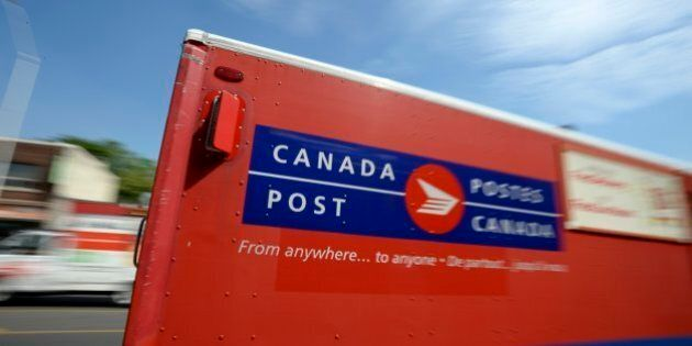 TORONTO, ON - JULY 5:  Canada Post Downtown Commissioners Letter Carrier Depot on Commissioners St. Canada Post issued a 72-hour notice to the Canadian Union of Postal Workers.        (Andrew Lahodynskyj/Toronto Star via Getty Images)