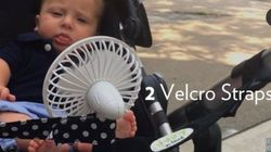 Genius Stroller Hack Keeps Baby Cool In Summer
