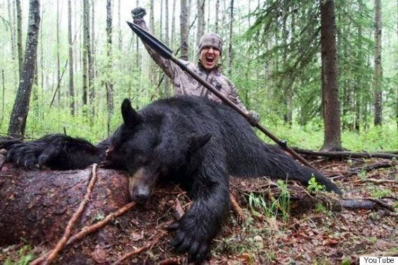 Josh Bowmar Spears Alberta Black Bear In Deleted