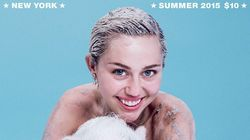 Miley Cyrus Gets Dirty For Paper