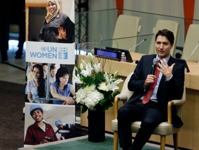 Trudeau Says He'll Call Himself A Feminist 'Until It's Met With A