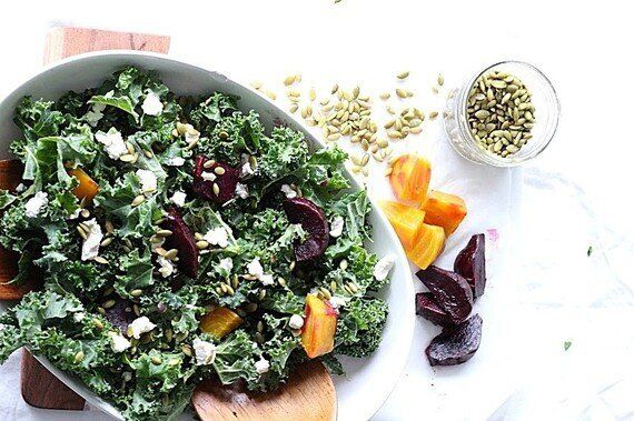 This Roasted Beet And Kale Salad Is Even Tastier The Next