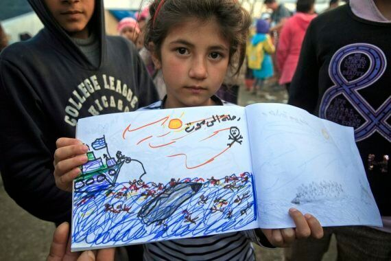 The Syrian Refugee Crisis Told Through The Eyes Of An