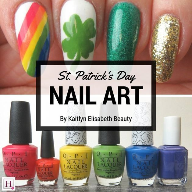 Nail Art: A Fun And Easy St. Patrick's Day