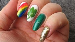 Get In The St. Patrick's Day Spirit With This Fun Nail Art