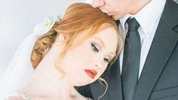 Model With Down Syndrome Enchants In Gorgeous Wedding
