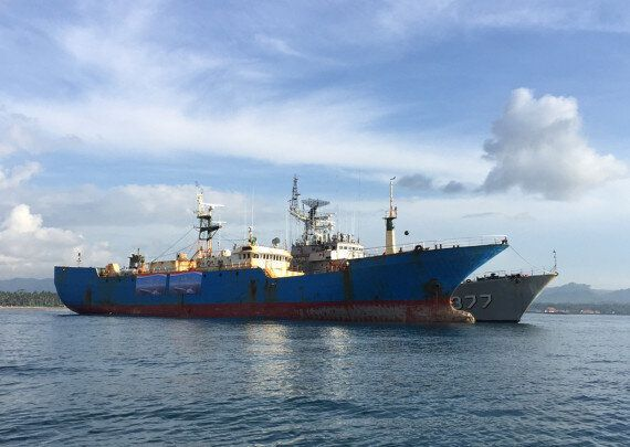 Indonesia Blows Up Illegal Fishing Ship Viking, Last Of The 'Bandit