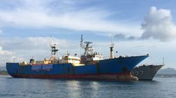 Indonesia Blows Up Internationally Hunted Illegal Fishing