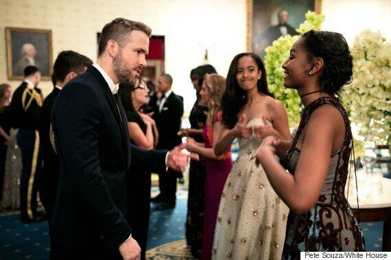 Sasha Obama Meeting Ryan Reynolds Is Freaking