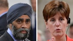 Defence, Development Ministers Talk ISIS Mission With Aid