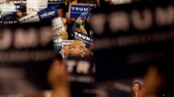 Trump's New Normal: Chaos At Rallies Now Goes Without
