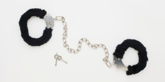 Fur ankle cuffs with