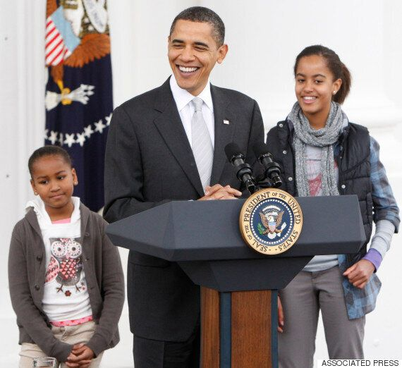 Malia And Sasha Obama Are All Grown Up At First State