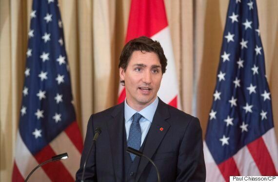 Trudeau Speaks At U.S. Venue Rife With Historical