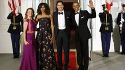 Obama Honours Trudeau At Star-Studded State