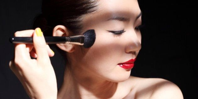 Women make-up and look