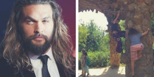 Jason Momoa Kids: Actor Is Quickly Reminded Not To Turn His