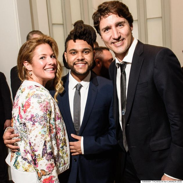 Sophie Grégoire-Trudeau Wears Toronto-Based Designer Ellie Mae For Canada 2020