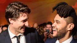 The Weeknd And Trudeau Hung Out In Washington.