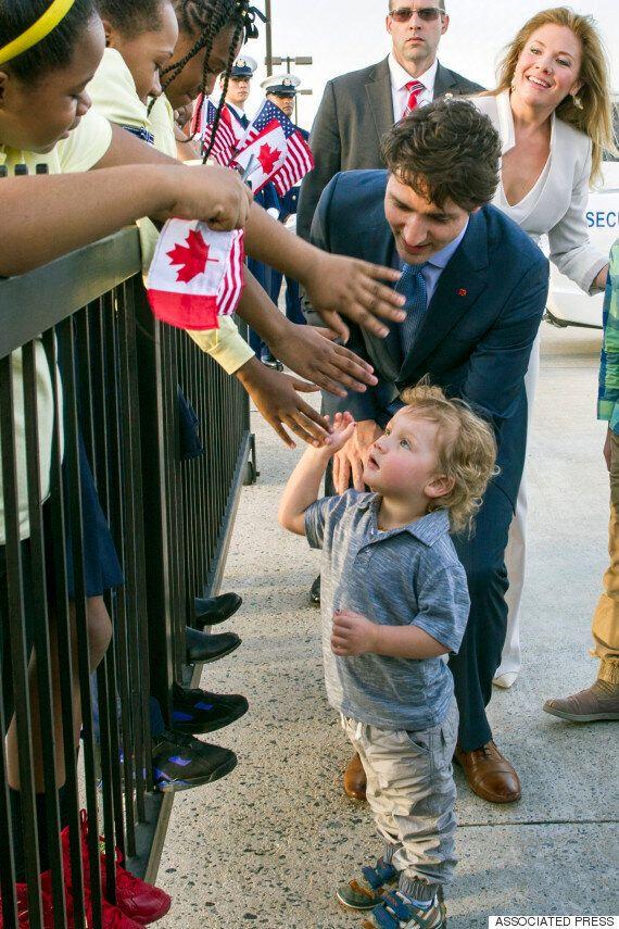 Hadrien Trudeau Charms Washington Seconds After