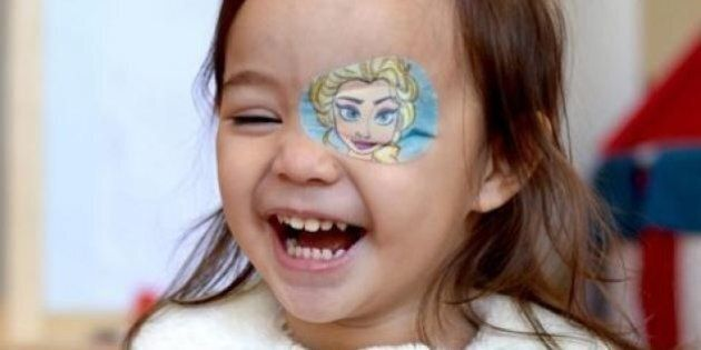 Eye Patch For Kids: Dad's Creativity Brings Joy To All Of