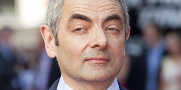 Rowan Atkinson Arriving At The World Premiere Of Johnny English Reborn, Empire Cinema, Leicester Square, London. (Photo by John Phillips/UK Press via Getty Images)