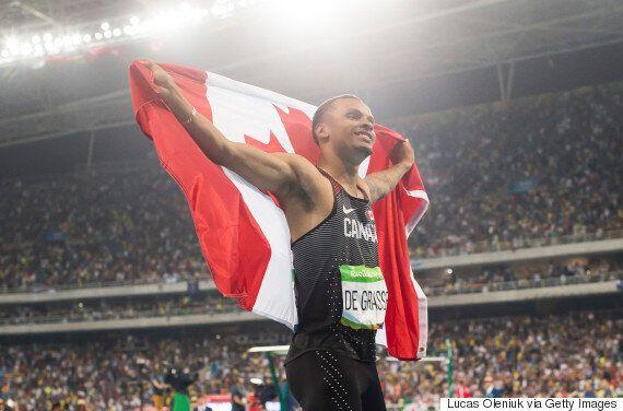 De Grasse Captures Bronze For Canada In Men's