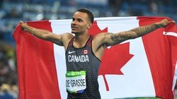 De Grasse Sets Personal Best, Captures Bronze In Men's