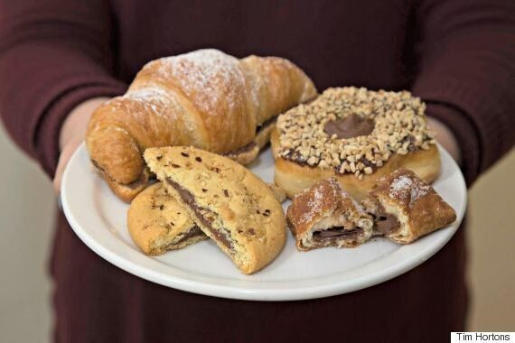 Tim Hortons Releases Two New Nutella-Filled Desserts To Feed Our