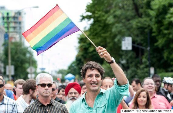 Trudeau At Montreal Pride: Canada Should Set An Example For The World On LGBTQ