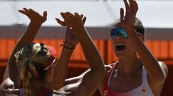 Canada Beats Canada To Advance To Beach Volleyball