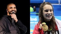 Drake And Olympian Penny Oleksiak: New