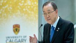 Ban Ki-moon Praises Canada's Openness To