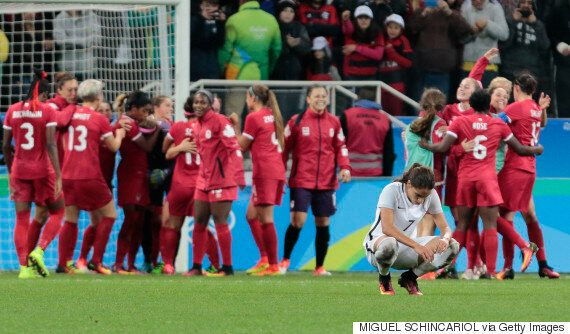 Canada's Women's Soccer Team Edges Victory Over France At