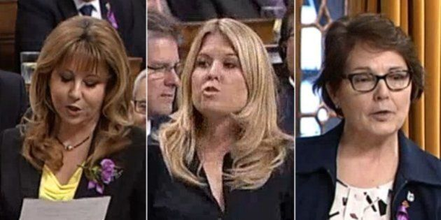 Only Women Spoke For The Tories In Question Period On