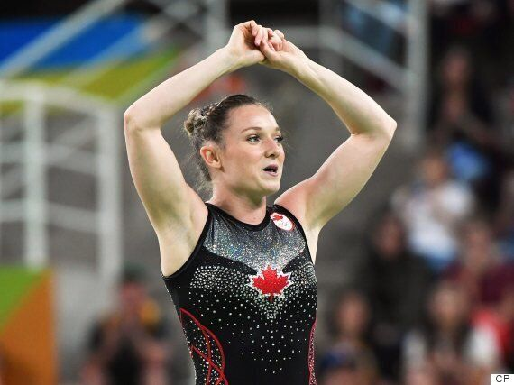 Canada's Rosie MacLennan Wins Gold In Women's Trampoline At Rio